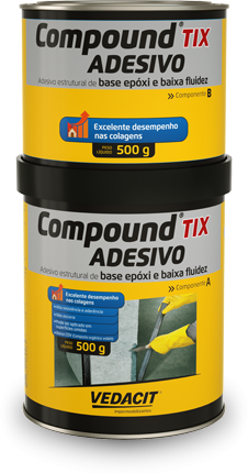 COMPOUND ADESIVO TIX - CONJUNTO 01KG