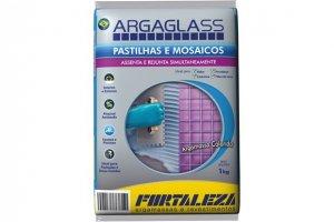 ARGAGLASS PRETO FORTALEZA - SC 1KG