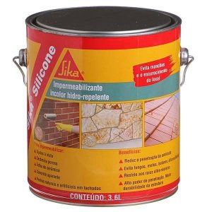 SIKA SILICONE - GALAO 3,6LTS