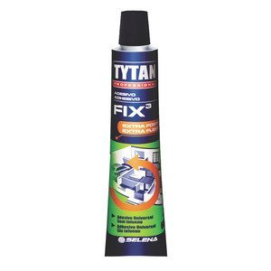 TYTAN ADESIVO FIX 3 BEGE - BLISTER 60G