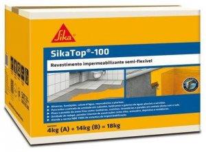 SIKATOP 100 - CAIXA 18KG